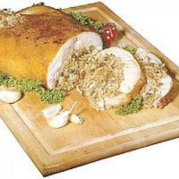 Big Easy Stuffed Chicken with Creole Pork Sausage and Potato