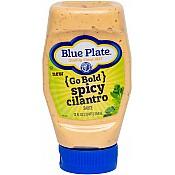 Blue Plate Spicy Cilantro Squeeze 12 Oz