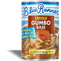 Blue Runner Chicken & Sausage Creole Gumbo Base 25 oz