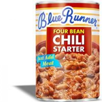 Blue Runner Four Bean Chili Starter