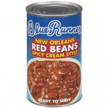 Blue Runner New Orleans Spicy Cream Style Red Beans 27 oz