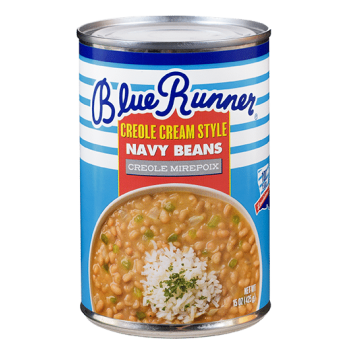 Blue Runner Navy Beans With Creole Mirepoix 16 oz