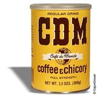 CDM Dark Roast Coffee & Chicory (Regular Grind) 13 oz