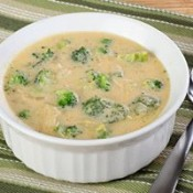 CHEF JOHN FOLSE Broccoli, Cheese & Bacon Soup