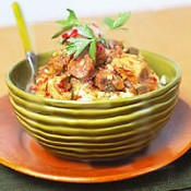 CHEF JOHN FOLSE Chicken & Sausage Jambalaya