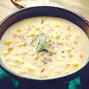 CHEF JOHN FOLSE Crawfish, Corn & Potato Soup