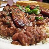 CHEF JOHN FOLSE New Orleans Red Beans & Sausage
