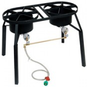 CRAWFISH BURNER Dual Burner w/Ext. Legs