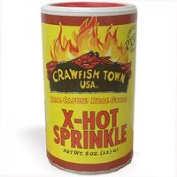 CRAWFISH TOWN USA X-Hot Sprinkle