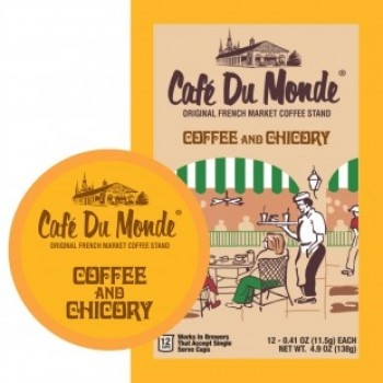 Cafe Du Monde - Coffee & Chicory 12 - Single Serve Cups