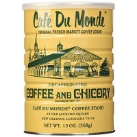 Cafe Du Monde Decaffeinated Coffee and Chicory 13 oz
