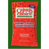 Cajun's Choice - Shrimp, Crab and Crawfish Boil 8oz