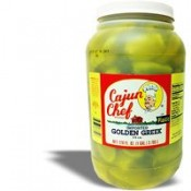 Cajun Chef Imported Golden Greek Peperoncini Gallon