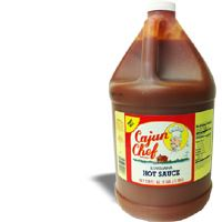 Cajun Chef Louisiana Hot Sauce 128 OZ / GALLON