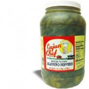 Cajun Chef Nacho Sliced Jalapeno Peppers Gallon