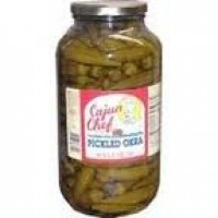 Cajun Chef Pickled Okra Gallon
