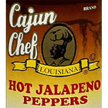 Cajun Chef Whole Hot Jalapeno Peppers 1 Gallon
