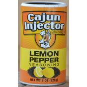 Cajun Injector Lemon Pepper Seasoning 8 oz.