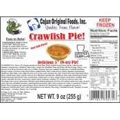 Cajun Original Crawfish Pies 10 - 9 oz Pies