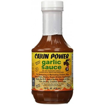 Cajun Power Garlic Sauce 16 oz