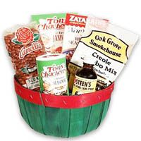 Cajun Six Pack Gift Basket