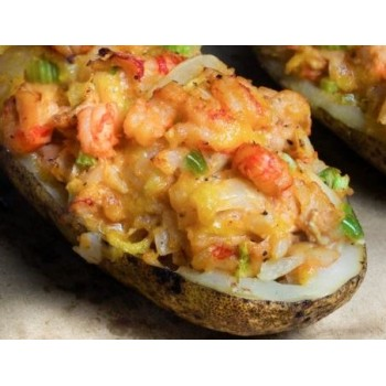 Cajun Specialty Meats Crawfish Stuffed Twice Baked Potato