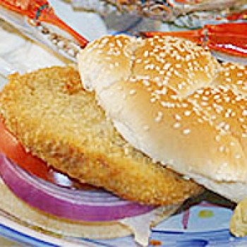 CajunGrocer Crab Burger