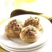 CajunGrocer Stuffed Mushrooms w/ Crabmeat