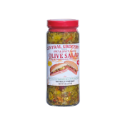 Central Grocery Hot & Spicy Olive Salad 16 oz