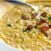Chef John Folse Sweet Corn & Crab Bisque
