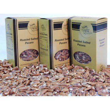 Classic Golden Pecans Roasted, Buttered & Salted Pecans