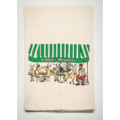 Coffee and Beignets Kitchen Towel