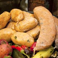 Comeaux's Crawfish Boudin - PARTY LINKS 1 lb