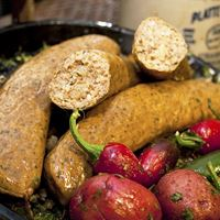 Comeaux's Pork Boudin X-Hot 16 oz