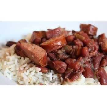 Comeauxs Red Beans, Tasso & Andouille