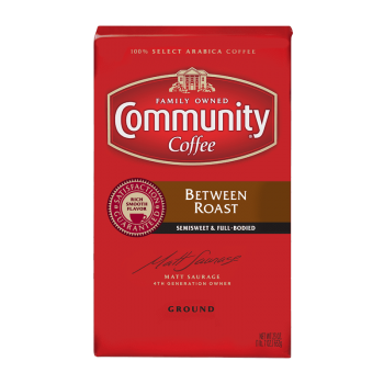 Community Coffee Between Roast