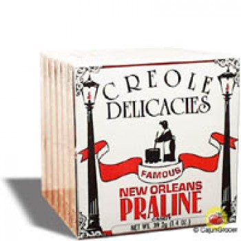 Creole Delicacies Original Pralines (Box of 6)