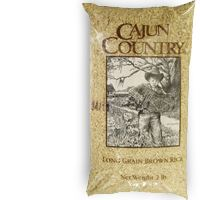 Cajun Country Long Grain Brown Rice 2 lbs