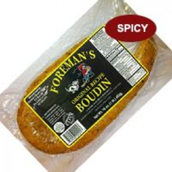 Foreman's Pork Boudin - Spicy