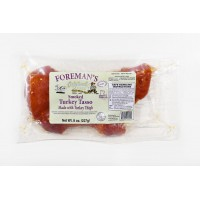Foreman's Smoked Turkey Tasso 8 oz