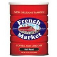 French Market Coffee & Chicory City Roast 12 oz
