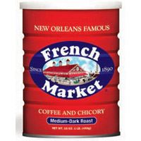 French Market Coffee & Chicory Creole Roast 12 oz