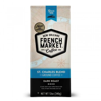 French Market Coffee St Charles Blend Dark Roast