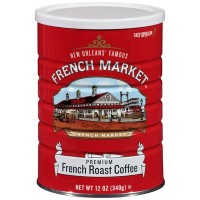 French Market Premium French Roast 12 oz
