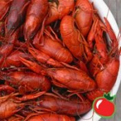 Fresh Boiled Crawfish - 50 lbs. Field Run Seasoned