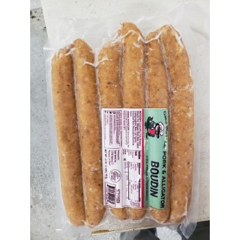 Gator World Alligator Boudin 2 lb