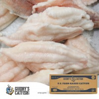 Guidry's IQF Catfish Fillet's (9-12 oz.) 15 lb