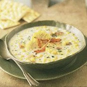 Hebert's Specialty Meats Crawfish & Corn Soup