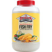 LA Fish Fry New Orleans Style Lemon Fish Fry Gallon