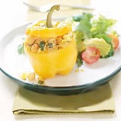 Lena's Shrimp Stuffed Bell Pepper